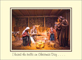 I heard the bells on Christmas Day, their old, familiar carols play, And wild and sweet the words repeat of peace on earth, goodwill to men!