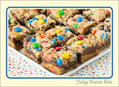 Fudgy Monster Bars