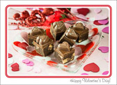 On Valentine's Day all you need is love, but a little chocolate doesn't hurt either!