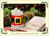 Warm wishes for a blessed Christmas.