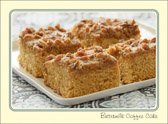 A cup of coffee and piece of coffee cake shared with a friend is time well spent.