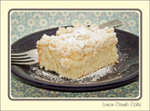 How do you improve on Lemon Crumb Cake for the most important meal of the day?