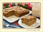 You can never have enough friends or coffee cake.  Better yet, they go great together.