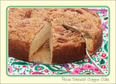 Sharing coffee cake is an act of love.