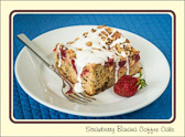 Question:  What do you call coffee cake with strawberries and bananas? Answer:  Health food.