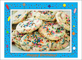 Cookies make everything better, especially birthdays.