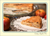 Easy apple pie sounds like an oxymoron but trust me, it exists and it's easy and really, really good.