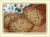 Food Fact:  Quick breads (chemically leavened) originated in America at the end of the 18th century.