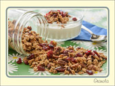 Kudos to the person that first thought to sprinkle granola on yogurt.  Heavenly, simply heavenly.