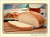 Bread Fact:  Legend has it that whoever eats the last piece of bread has to kiss the cook.